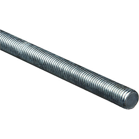 National Hardware 4000BC 3/4 in. x 10 x 36 in. Threaded Rod, Zinc