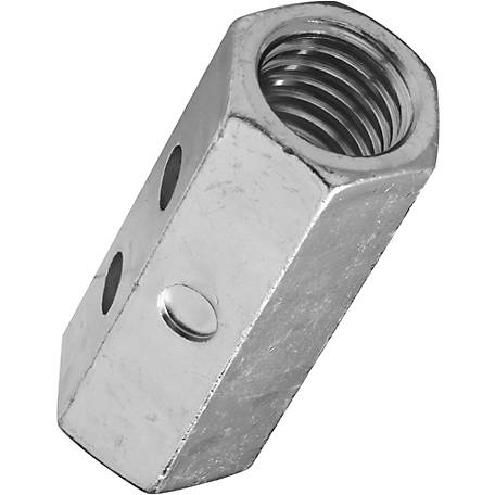 National Hardware 4003BC 5/8-11 Coupler, Zinc (Red)