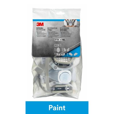 3M Disposable Paint Project Respirator; Medium; 1/Pack