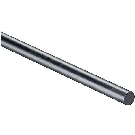 National Hardware 4005BC 1/2 in. x 36 in. Smooth Rod, Zinc (Blue)