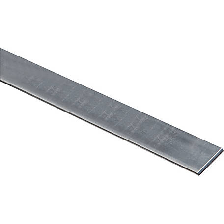 National Hardware 4015BC 1 in. x 36 in. Solid Flat, Galvanized