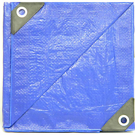 Weathermaster Lightweight Blue Poly Tarp, 5 ft. x 7 ft.