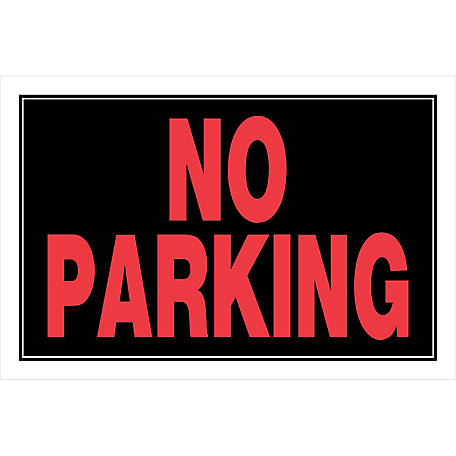 Hillman No Parking Sign 8 In X 12 In At Tractor Supply Co