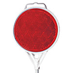Drive Marker Reflector, Red, 48 in