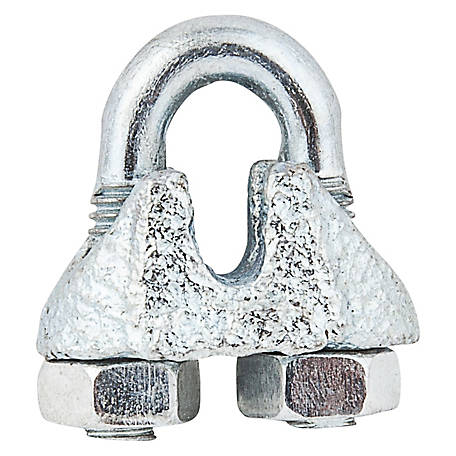 National Hardware 3230BC 1/16 in. Wire Cable Clamp, Zinc