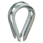 National Hardware 3232BC 1/2 Rope Thimble, Zinc