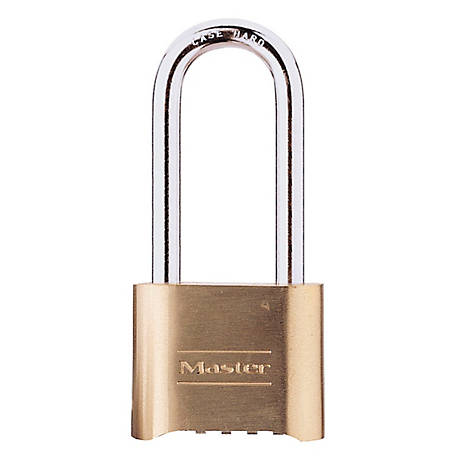 Master Lock Combination Padlock, 175DLH