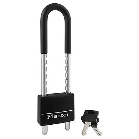 Master Lock Covered Solid Body Padlock, 527D