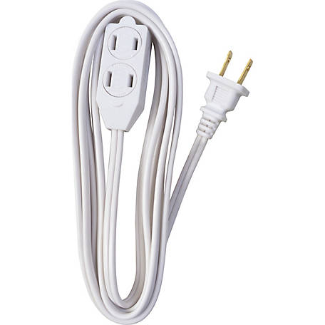 Southwire Cube Tap 16/2 9 ft. Brown Extension Cord
