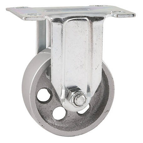 Waxman Titan Casters 3 in. Sintered Iron Plate Caster, 300 lb. Capacity, 4034355TD