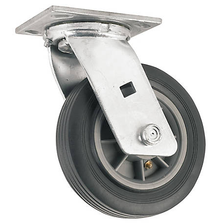 Waxman Titan 6 in. Flat Proof Caster Swivel