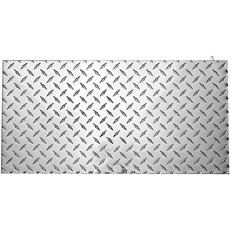 National Hardware 4221bc 24 In X 12 In Polished Aluminum Diamond Plate Sheet Red At Tractor Supply Co