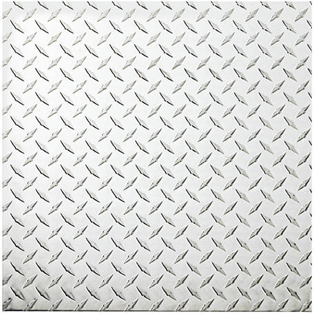 National Hardware 4220bc 24 In X 24 In Polished Aluminum Diamond Plate Sheet Green At Tractor Supply Co