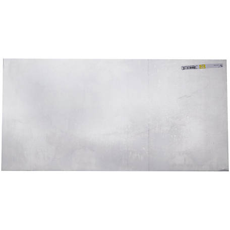 National Hardware 4215BC 24 in. x 12 in. Aluminum Sheet, Mill (Yellow)