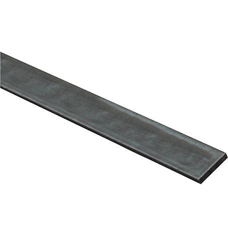 National Hardware 4064BC 1.5 in. x 36 in. Solid Flat 1/4 in. Plain Steel (Blue)