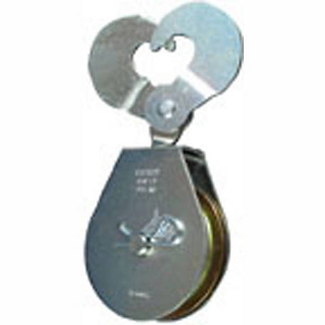 Single Scissor Pulley, 3 in.