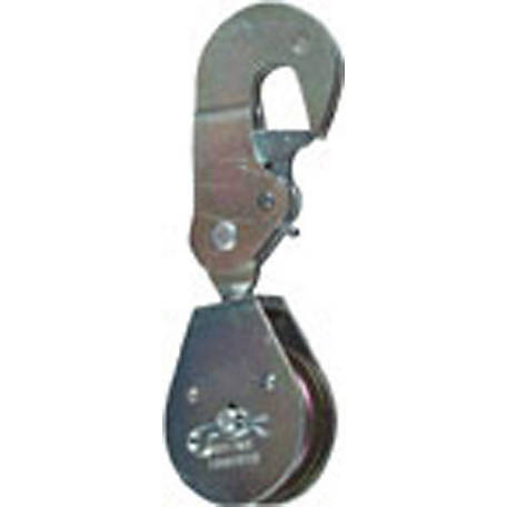 Latching Swivel Hook Single Pulley