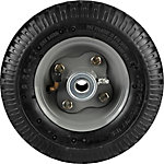 8 in. x 2.50-4 in. Pneumatic Wheels with Knobby Tread, 5/8 in. Bore Size