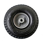 4.10/3.50-4 in. Pneumatic Wheels Sawtooth Tread, 5/8 in. Bore Size