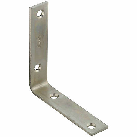 National Hardware N220-145 115 Corner Brace, Zinc Plated