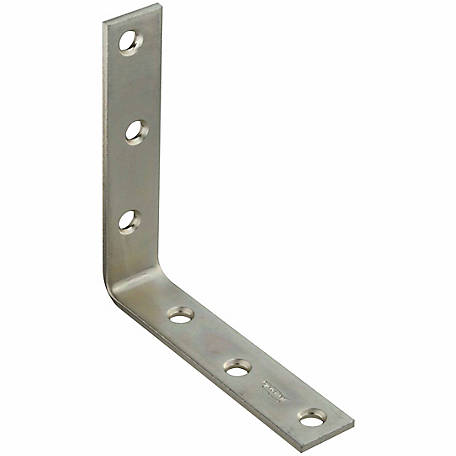 National Hardware N220-152 115 Corner Brace, Zinc Plated