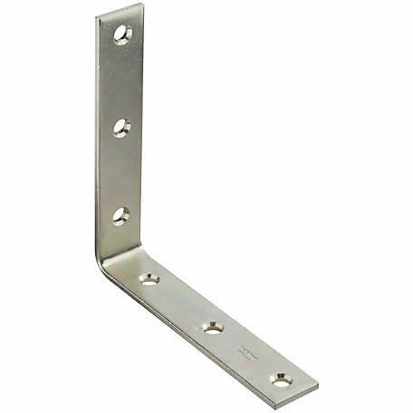 National Hardware N220-160 115 Corner Brace, Zinc Plated