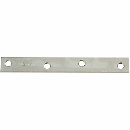 National Hardware N220-285 118 Mending Brace, Zinc Plated