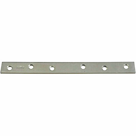 National Hardware N220-327 118 Mending Brace, Zinc Plated
