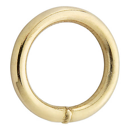 National Hardware 3156BC 1 in. Ring, Solid Bronze