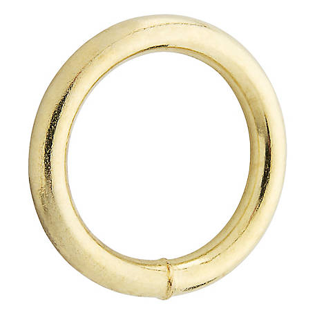 National Hardware 3156BC 1-1/4 in. Ring, Solid Bronze