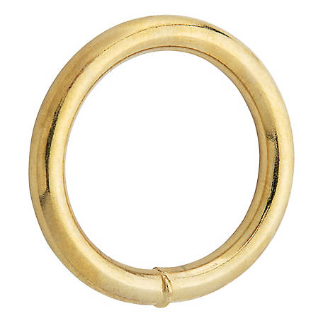National Hardware 3156BC 1-1/2 in. Ring, Solid Bronze