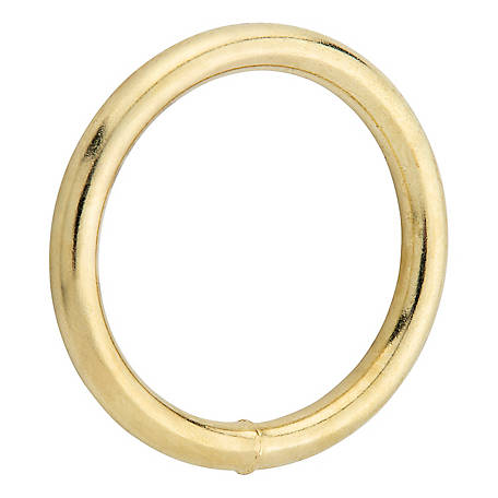 National Hardware 3156BC 1-3/4 in. Ring, Solid Bronze