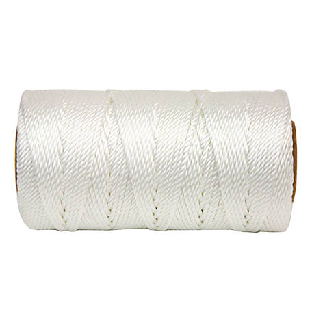Koch Industries Twisted Mason Twine, White, #18 x 225 ft. Tube