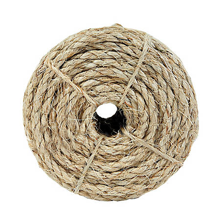 Koch Industries Sisal Rope, 1/4 in. x 100 ft. Coil