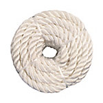 Koch Industries Nylon Twisted, White, 1/4 in. x 100 ft. Coil