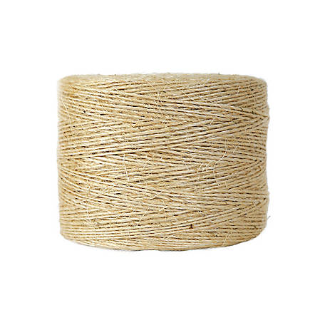 Koch Industries Sisal Twine, 1-Ply x 2250 ft. Tube