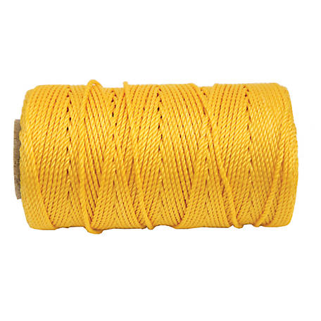 Koch Industries Twisted Mason Line, Yellow, #18 x 225 ft. Tube