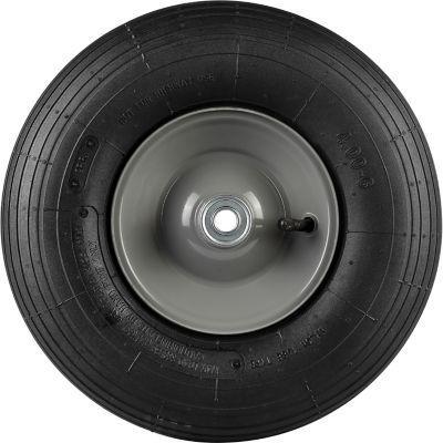 Wheelbarrow Tire; Ribbed Tread; 13 in. x 4.00 x 6