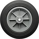 10 in. x 2.5 in. Solid Tire with Ribbed Tread, 5/8 in. Bore Size