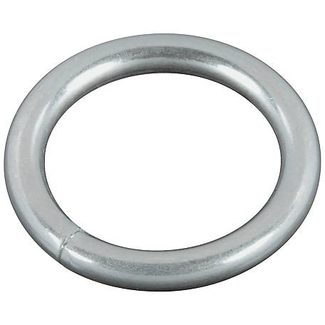 National Hardware 3155BC 1X#7 Steel Ring, Zinc