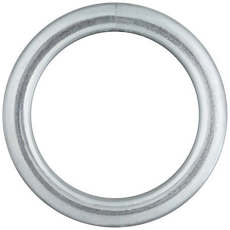 National Hardware 3155BC 1-1/4X#4 Steel Ring, Zinc