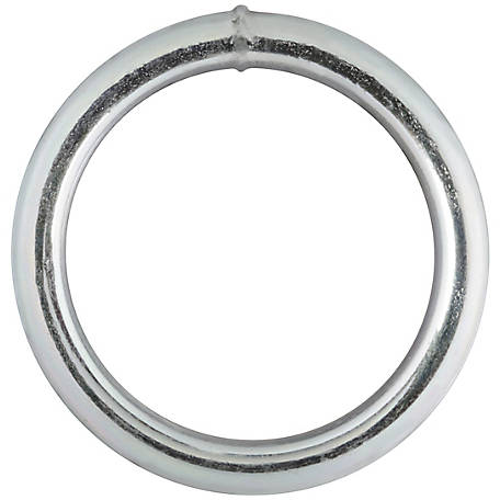 National Hardware 3155BC 1-1/2X#3 Steel Ring, Zinc