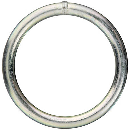 National Hardware 3155BC 2X#2 Steel Ring, Zinc