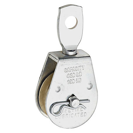 Swivel Single Pulley, 1-1/2 in.