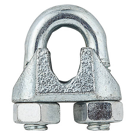 National Hardware 3230BC 5/16 in. Wire Cable Clamp, Zinc