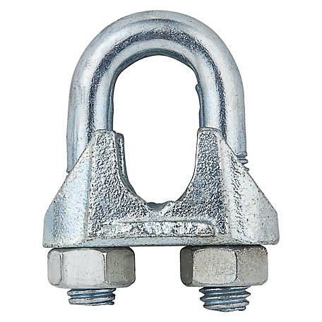 National Hardware 3230BC 5/8 in. Wire Cable Clamp, Zinc