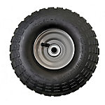 4.10/3.50-4 in. Pneumatic Wheels with Knobby Tread, 5/8 in. Bore Size