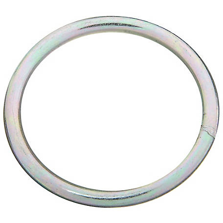 National Hardware 3155BC 2-1/2X#2 Steel Ring, Zinc