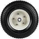 13 in. x 5.00-6 in. Flat-Free Wheels with Turf Tread, 5/8 in. Bore Size