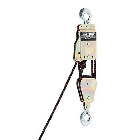 Tuf-Tug Rope Hoist Block and Tackle